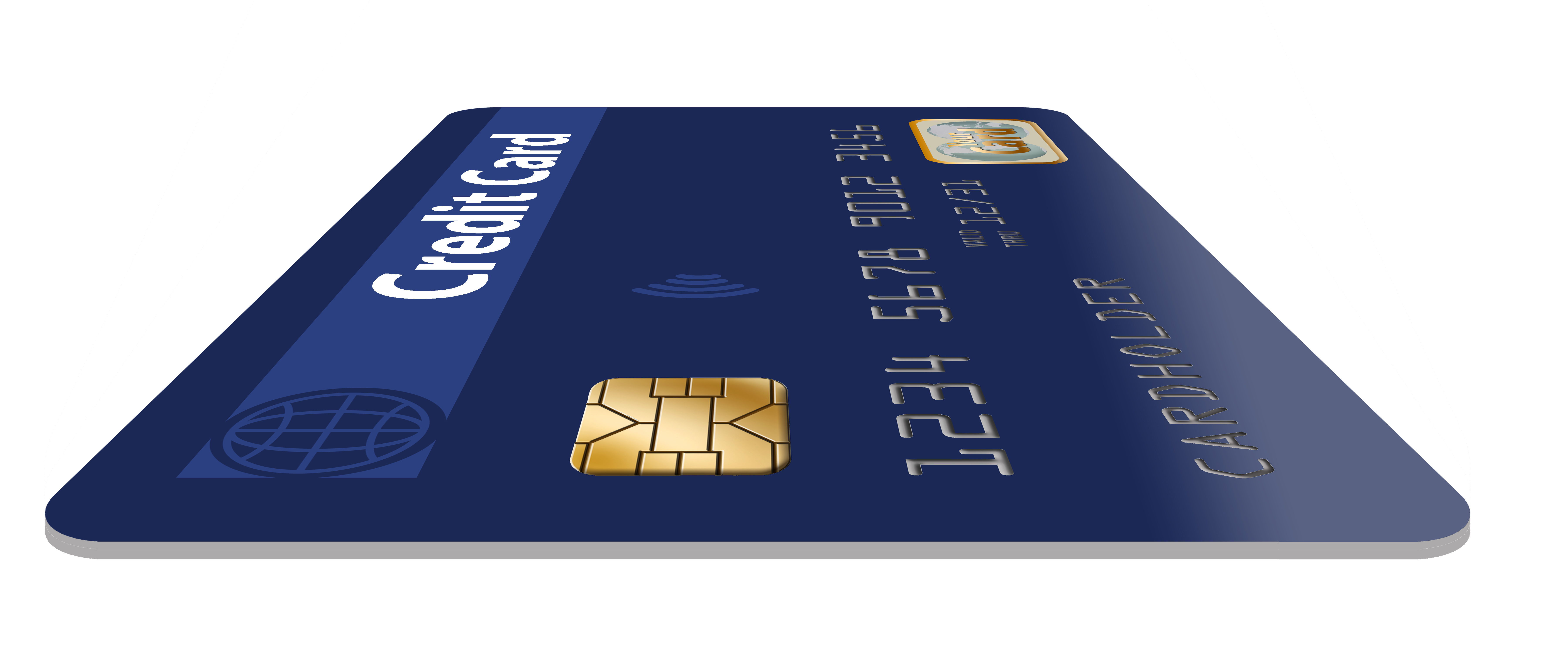 Credit Card with EMV Chip