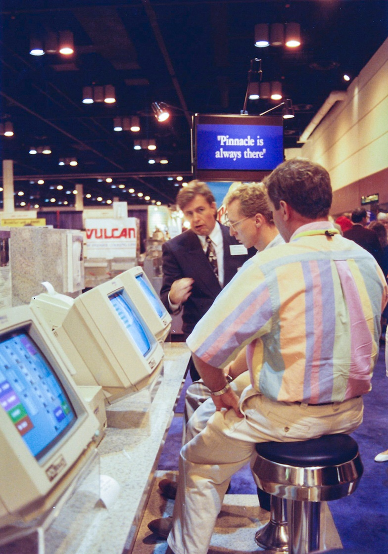 Don Potter at a 1994 tradeshow conference.